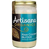 Artisana Organics - Coconut Butter, USDA Organic Certified and Non-GMO Handmade Rich and Thick Spread (14 oz)