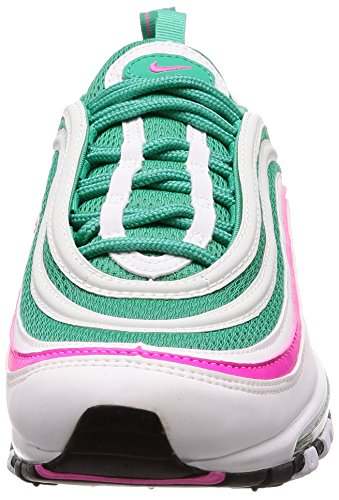 Hommes blanc Air 97 kinetic Blast Green Vert Rose Max Explosion Baskets Cintique Blanc Multicolore Nike AxBqpwBP