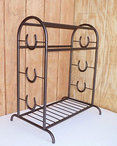 Apple Picker Trophy Saddle Rack Copper Vein