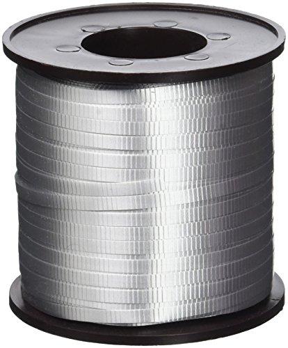 (Silver Curling Ribbon, 500 Yd.)