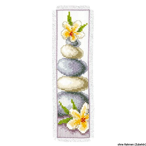 Vervaco PN-0143910 | Frangipani Bookmark Counted Cross Stitc