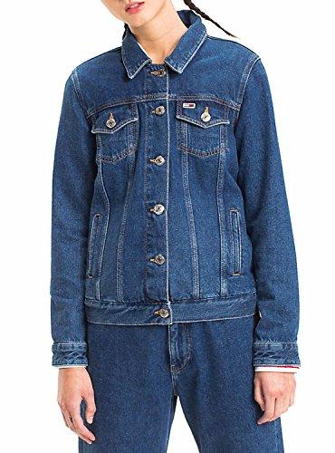 Dw0dw04578 Vestes Jeans Tommy Et Blousons Bleu Femme Classic xTt6wd56
