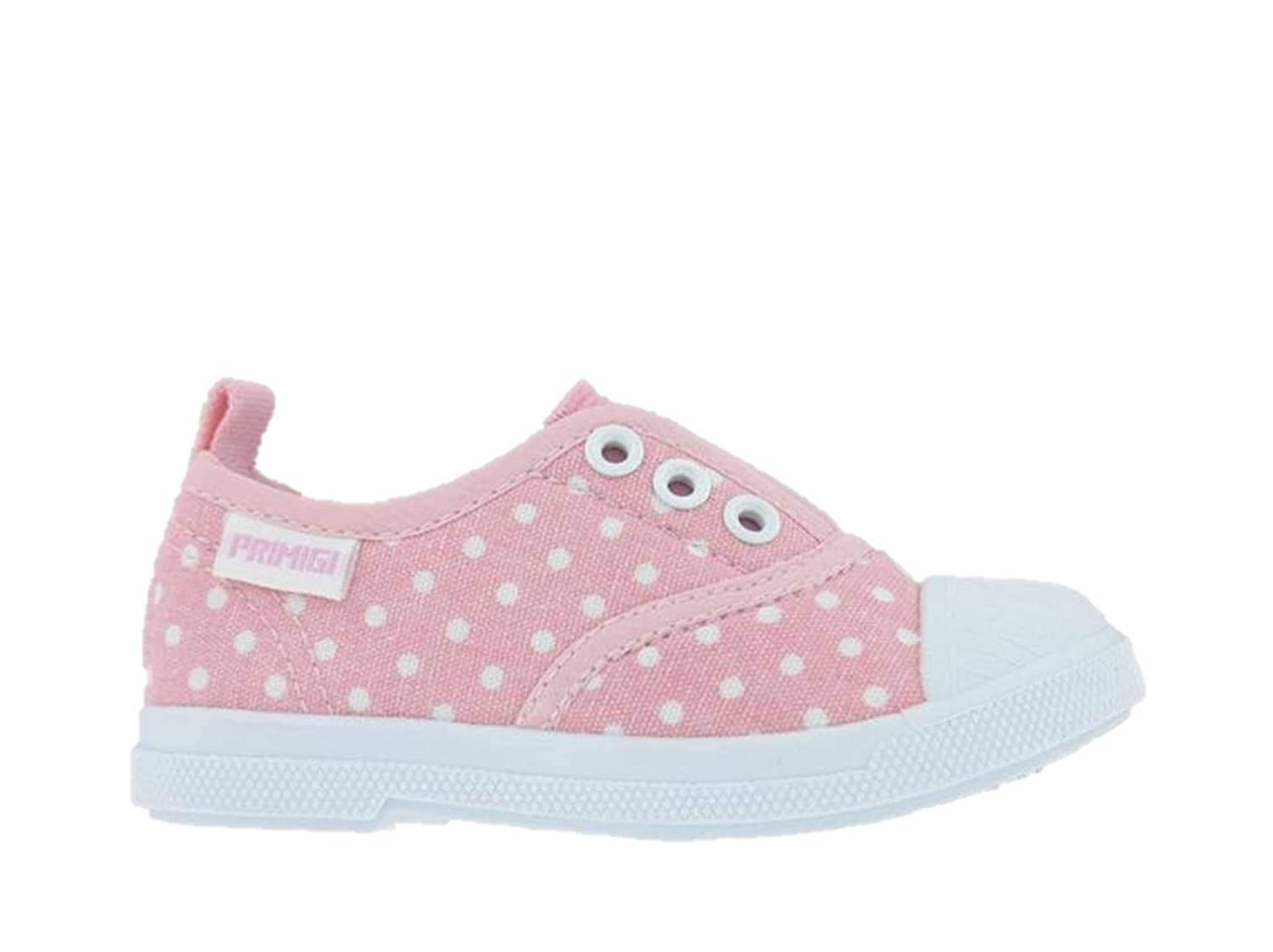 Primigi 3445122 Sneakers Infant Shoes Canvas First Steps Pink Made in Italy