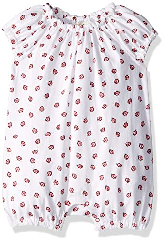 Hatley Baby Girls Mini Rompers, Little Lady Bugs, 6-9 Months