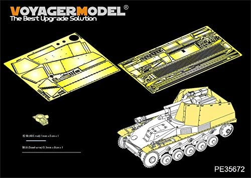 35672 WWII German self-propelled Howitzer Wespe Basic for Tamiya 35200 VOYAGER 1//35 35671