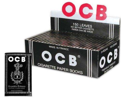 Ocb Ungummed Cigarette Rolling Papers 24 Booklets