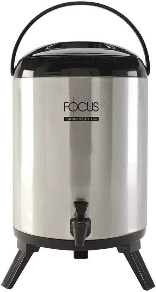 Focus BD95SS 9.5-liter Insulated Beverage Dispenser, Stainless
