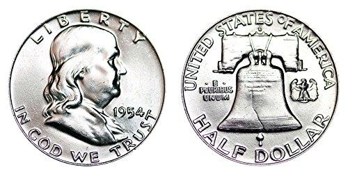 1954 D Franklin Half Dollar Half Dollar Brilliant Uncirculated ()