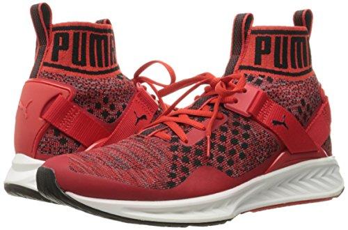 Shade trainer Ignite Puma High Shoe Men's puma Evoknit Black Risk quiet Red Cross xHwwIvR