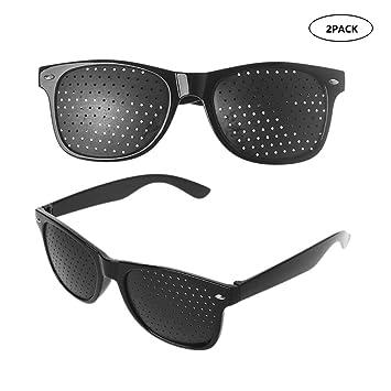 Amazon.com: Rsioslec Vision Correction Glasses Black Small ...