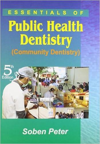 9788186809648: essentials ofpublic health dentistry (community.