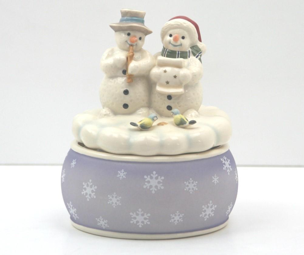 Goebel 66873191 Weihnachten Spieluhr Weiße Musikanten