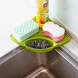 Toxham Creative Useful Multipurpose Must Have Corner Sink Wash Basin Storage Organizer Rack(Pack of 1)