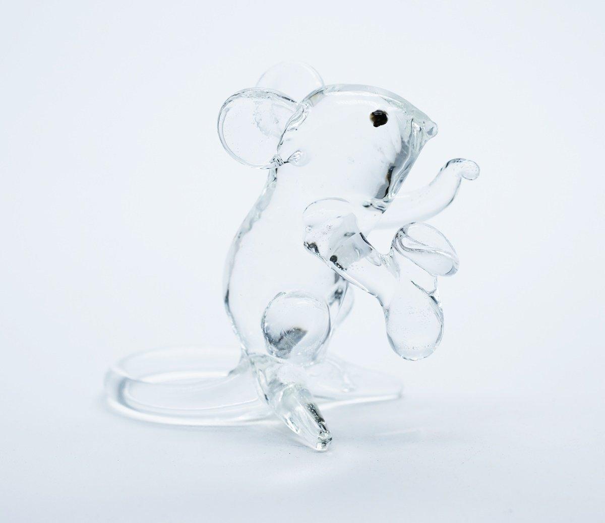 3 D Crystal Toy LuckyRat Hand Bowl Glass Dollhouse Miniatures Decoration CoolPrice Glass