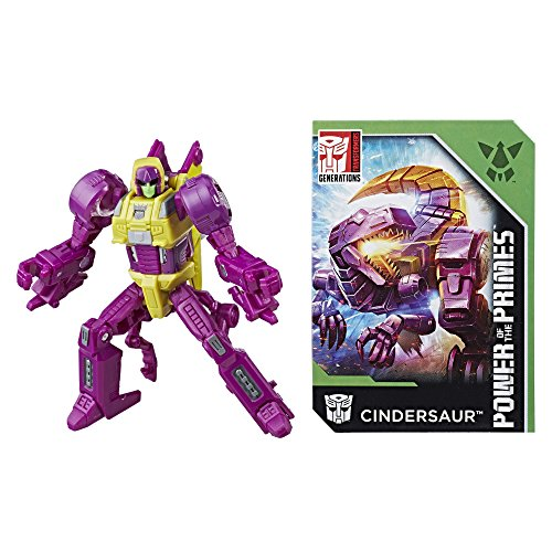 - Transformers: Generations Power of the Primes Legends Class Cindersaur