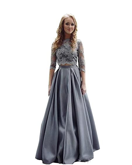Sweetlife Prom Dresses Two Piece Latest Dress For Wedding Women Party Gowns Floor-Length Formal