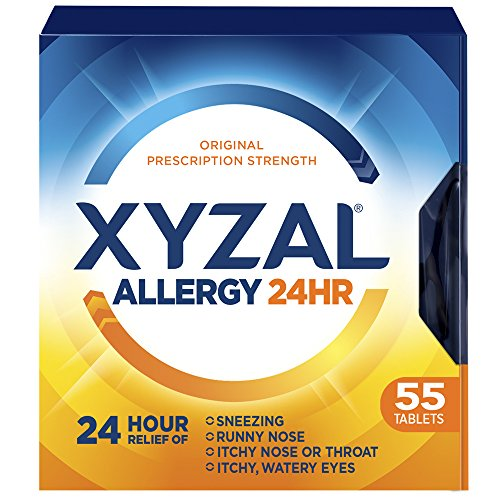 Xyzal Allergy Tablet, 55 Count