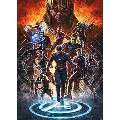 Avengers Endgame Collage 1,000 pc Puzzle: Toys & Games