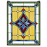 Stained Glass Panel - St. Katherine's Row Stained Glass Window Hangings - Window Treatments