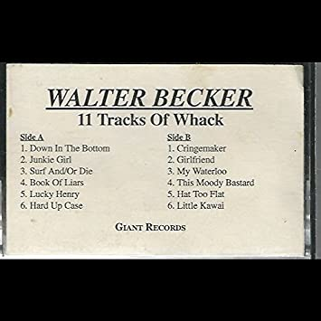 Walter Becker Walter Becker 11 Tracks Of Whack Cassette Nm Usa Giant 22734 Amazon Com Music