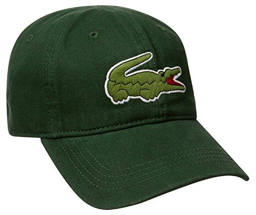 f68ce23a14 Lacoste Men's Big Croc Gabardine Cap, Sherwood, One Size - Import It All