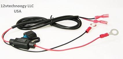 amazon com accessory lighter socket outlet jack 12 volt wire 12 Volt Control Panel image unavailable