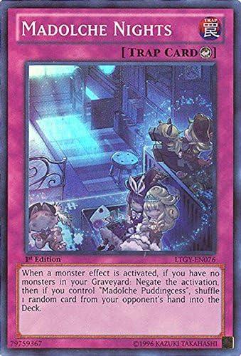 LTGY EN076 1ST ED 1X MALDOCHE NIGHTS SUPER RARE CARD