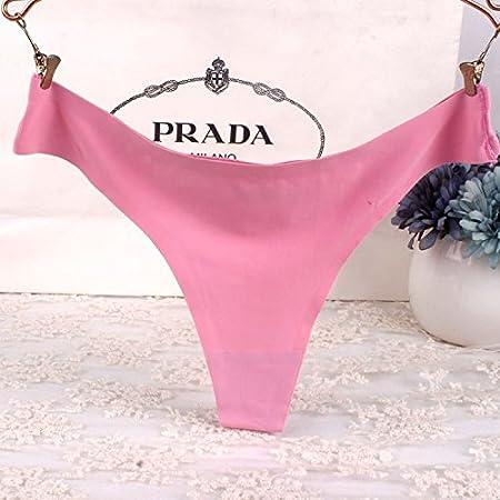 ab7db7a42ea50 HALILUYA Damen Sexy String Hüftiger Slips Präsident Unterwäsche EIS Seide  Damen Unterwäsche t Hosen t Hose sexy Nicht markiert das Ende der ...