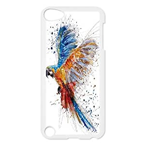 Unique Phone Case Design 16Funny Parrot,Cute Bird- FOR Ipod Touch 5