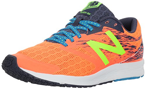 Nuovo Equilibrio Mens Flash V1 Scarpa Da Corsa Orange / Navy