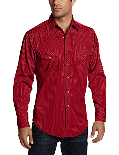 Buy mens large western shirt snaps
