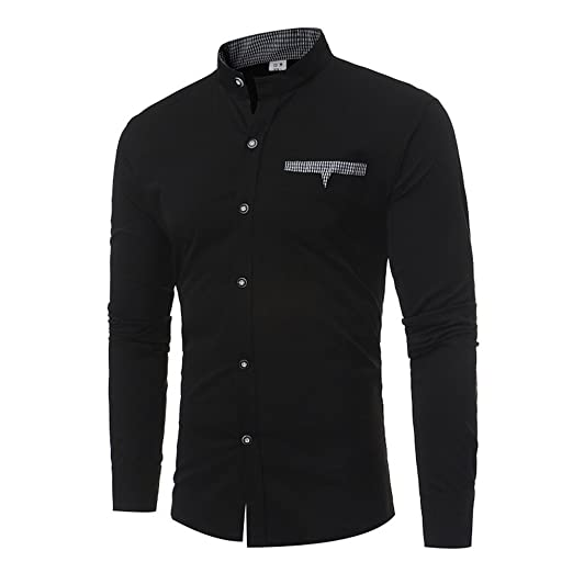 ba1e012a5ba0 iCODOD Men s Work Shirts