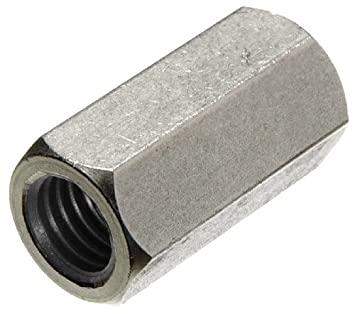 8-Pack The Hillman Group 45133 5//16-18-Inch Stainless Steel Coupling Nut