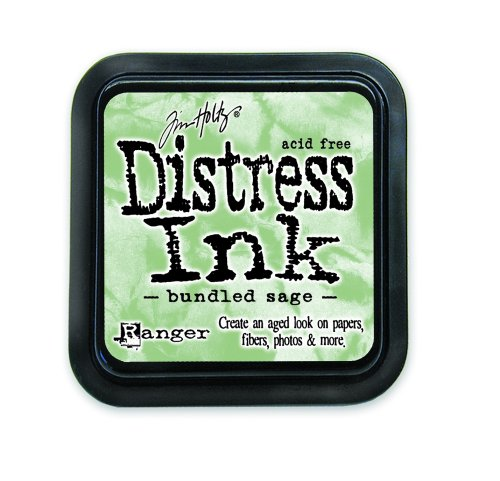 Ranger DIS-27102 Tim Holtz Distress Ink Pad, Bundled Sage