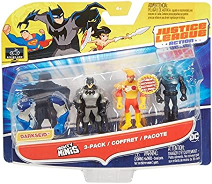 DC Comics Liga de la Justicia MR FREEZE MINIFIGURA, 3 Pack: Amazon ...