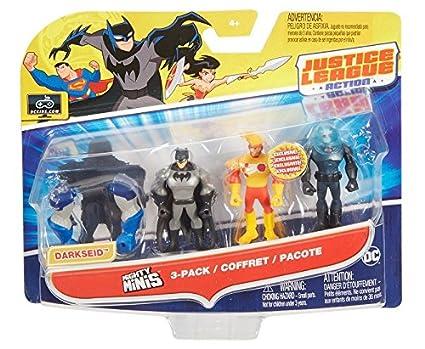 Justice League Action Mighty Minis Figure 3 Pack U CHOOSE  Superman Batman Lobo