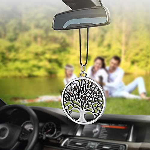 Libloop Men or Women Hanging Decorations for Car or Truck Rearview Mirror (Tree)