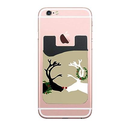 Amazon.com: Soporte para tarjeta de teléfono móvil, adhesivo ...