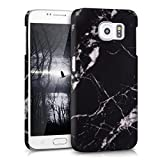 kwmobile Hard case Design marble for Samsung Galaxy S6 / S6 Duos in black white