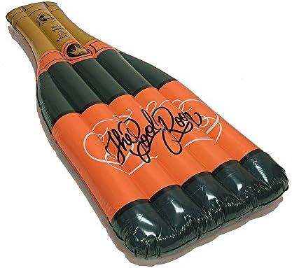 Piscina inflable gigante flotador de la botella de champán y ...
