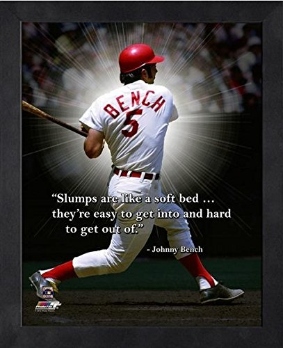 Johnny Bench Cincinnati Reds ProQuotes Photo (Size: 9