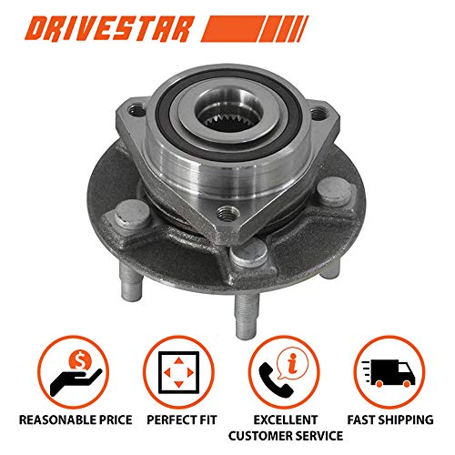 (DRIVESTAR one 513282 FRONT or REAR Wheel Hub & Bearing for 10-2013 Cadillac CTS Except V )