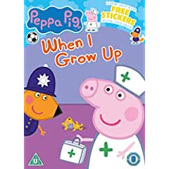 Peppa Pig: When I Grow Up on DVD Jan. 22 and PJ Masks: Butterfly Brigade on DVD Feb. 5 from Fox