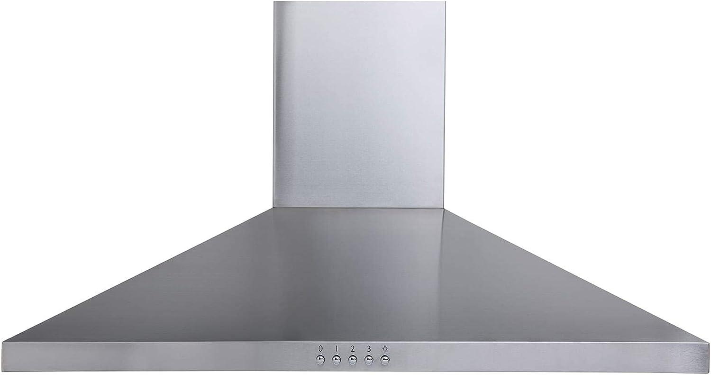 Extractor de campana Sia con chimenea de acero inoxidable de 70 cm + filtro de recirculación: Amazon.es: Grandes electrodomésticos
