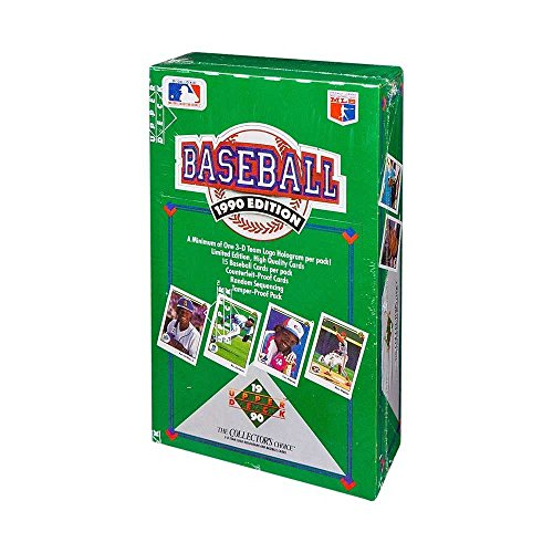 - 1990 Upper Deck Baseball Low Number Series Box