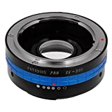 Fotodiox Pro Lens Mount Adapter - Mamiya 35mm (ZE) SLR Lens to Canon EOS (EF, EF-S) Mount SLR Camera Body, with Built-In Aperture Control Dial and Focus Confirmation Chip