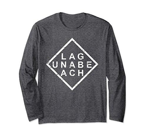 Laguna Long Sleeve (Unisex Stylish Laguna Beach Long Sleeve T-Shirt XL: Dark Heather)