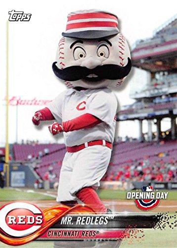 Redlegs Cincinnati Reds 2018 Topps Opening Day Mascots #M-7 Mr