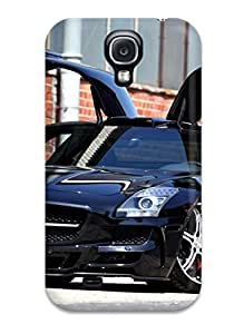 Hot Tpu Cover Case For Galaxy/ S4 Case Cover Skin - Mercedes Vehicles Cars Mercedes