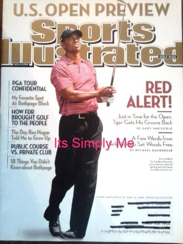 Sports Illustrated Golf + Plus Magazine June 15 2009 Tiger Woods Cover U.s. Open Preview